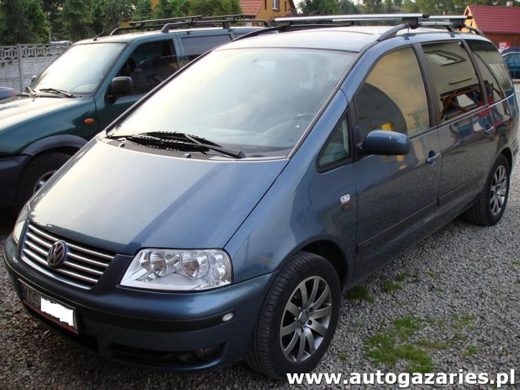 volkswagen sharan 1 8 t 20v 150km auto gaz aries monta instalacji gazowych lpg. Black Bedroom Furniture Sets. Home Design Ideas