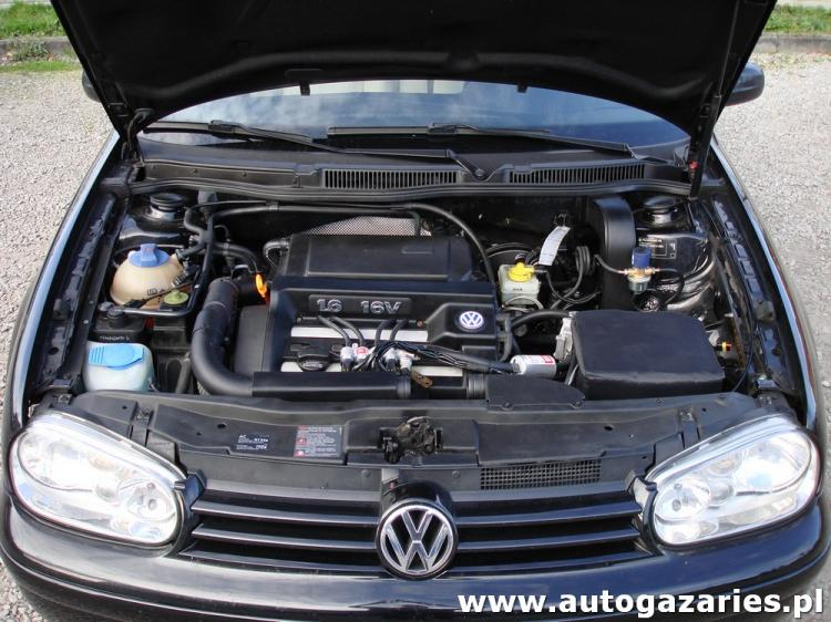 volkswagen golf iv 1 6 16v 105km auto gaz aries monta instalacji gazowych lpg. Black Bedroom Furniture Sets. Home Design Ideas